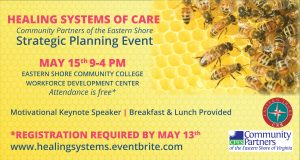 Healing Systems of Care - Strategic Planning Event @ Eastern Shore Community College - Workforce Development Center