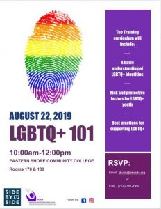 LGBTQ+ 101 Training @ Eastern Shore Community College - Workforce Development Center