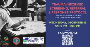 Trauma-Informed Screening, Referral & Response Protocol @ ZOOM